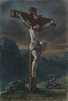 Christ on the Cross, 1856, delacroix