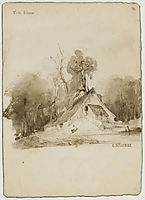 The Cottage in the grove, 1838, delacroix