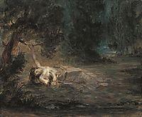 The Death of Ophelia, 1838, delacroix
