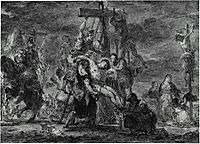 The Descent from the Cross, delacroix