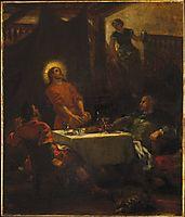 The Disciples at Emmaus, 1853, delacroix