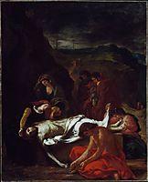 The Entombment of Christ, 1848, delacroix