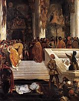 The Execution of Doge Marino Faliero, 1825-1826, delacroix