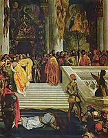 The Execution of the Doge Marino Faliero, 1826, delacroix