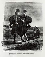 Faust, Goethe-s Tragedy, 1828, delacroix
