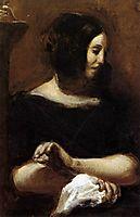 George Sand, 1838, delacroix