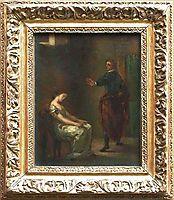 Hamlet and Ophelia, 1840, delacroix