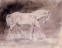 Horse, delacroix