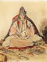 Jewish Bride, 1832, delacroix