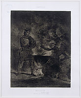 Macbeth and the Witches, 1825, delacroix