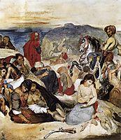 The Massacre of Chios, 18, delacroix