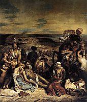 The Massacre at Chios, 1824, delacroix