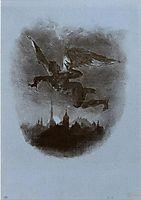 Mephistopheles Aloft, 1826, delacroix