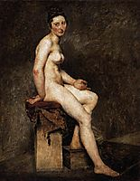 Mlle Rose, 1817-1820, delacroix