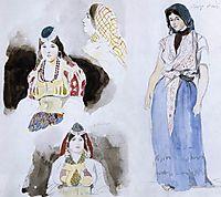 Moroccan Women, 1832, delacroix