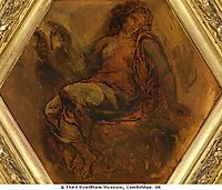 The Muse of Orpheus, 1847, delacroix