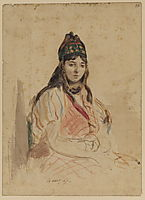 A North African Jewess, 1847, delacroix