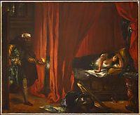 Othello and Desdemona, 1849, delacroix