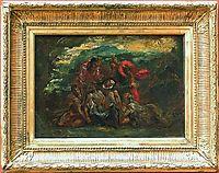 Pietà, 1837, delacroix