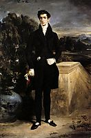 Portrait of Baron Schwiter, 1827, delacroix