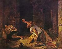 The Prisoner of Chillon, 1834, delacroix