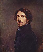 Self Portrait, c.1840, delacroix