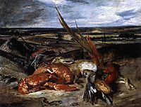 StillLife with Lobster, 1826-1827, delacroix