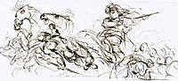 Study for the War coffer, 1833-1837, delacroix