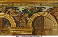 Study for part of the -Justice- frieze, 1836, delacroix