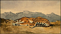 Tiger, 1830, delacroix