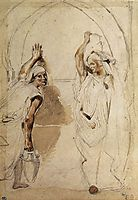 Two Women at the Well, 1832, delacroix
