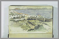 View of Tangier, delacroix
