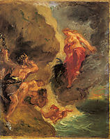 Winter Juno and Aeolus, 18, delacroix