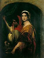 Herodias, 1843, delaroche