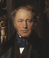 Portrait detail, 18, delaroche