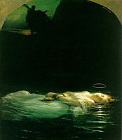 Young Christian Martyr, 1855, delaroche