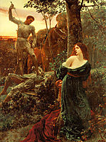 Chivalry, 1885, dicksee