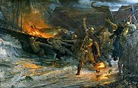 The Funeral of a Viking, 1893, dicksee