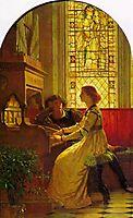 Harmony, 1877, dicksee
