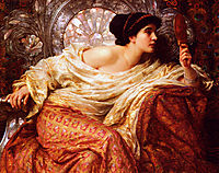 The Mirror, 1896, dicksee
