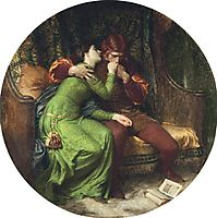 Paolo and Francesca, 1894, dicksee