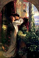 Romeo and Juliet, 1884, dicksee