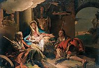The Adoration of the Shepherds, 1753, domenicotiepolo