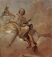 Apollo and Diana, 1757, domenicotiepolo