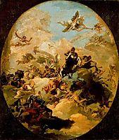 Apotheosis of Hercules, 1765, domenicotiepolo