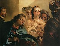 Christ and the Adulteress, 1751, domenicotiepolo