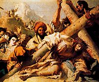 Christ-s Fall on the way to Calvary, 1772, domenicotiepolo