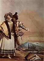 The Declaration of Love, 1757, domenicotiepolo