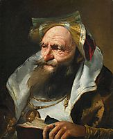 Head of a Scholar, domenicotiepolo
