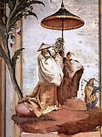 The Mandarin-s Walk, from the Chinese Room in the Foresteria, 1757, domenicotiepolo